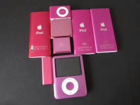 ipod color ipod nano 6g ipod touch 4g comparison color photos a