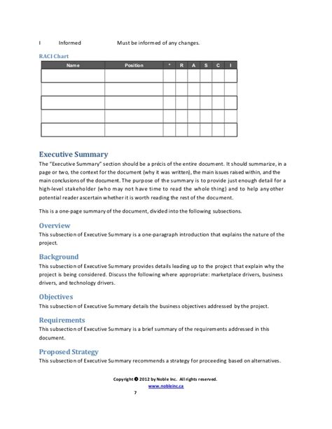 sle business requirement document template brd template for reporting 28 images sle business