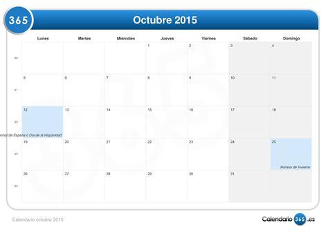 imagenes calendario octubre 2015 calendario octubre 2015