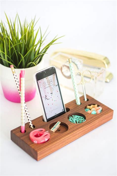 diy desk decor 38 brilliant home office decor projects diy