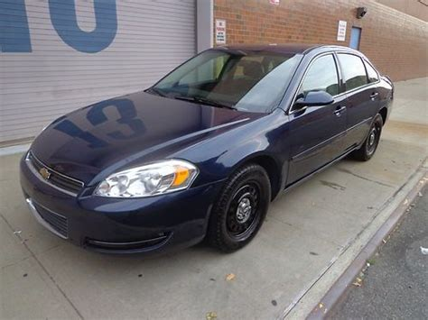 2007 chevy impala gas mileage find used 2007 chevy impala low milage unmarked blue