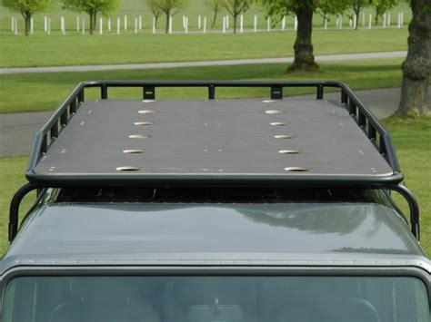 Roof Rack Gutter Mounts by Land Rover Defender 110 Top Roof Rack Gutter Mount