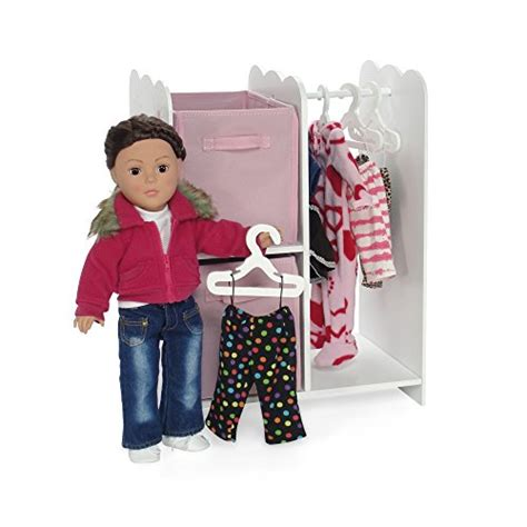 18 doll storage cabinet 18 inch doll furniture wooden doll clothes hangers