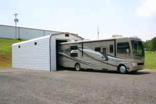 Charming Garage Rv #9: Enclosed-RV-metal-building-side.jpg