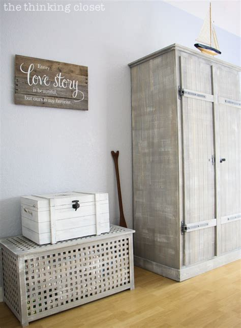 fjell wardrobe ikea hack before after the thinking the thrifty girl s guide to coastal decor the thinking