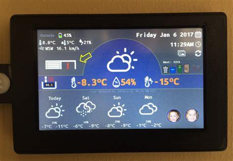 Garage Door Status Wiot 2 Weather Station Nextion Tft With Esp8266 Plastibots