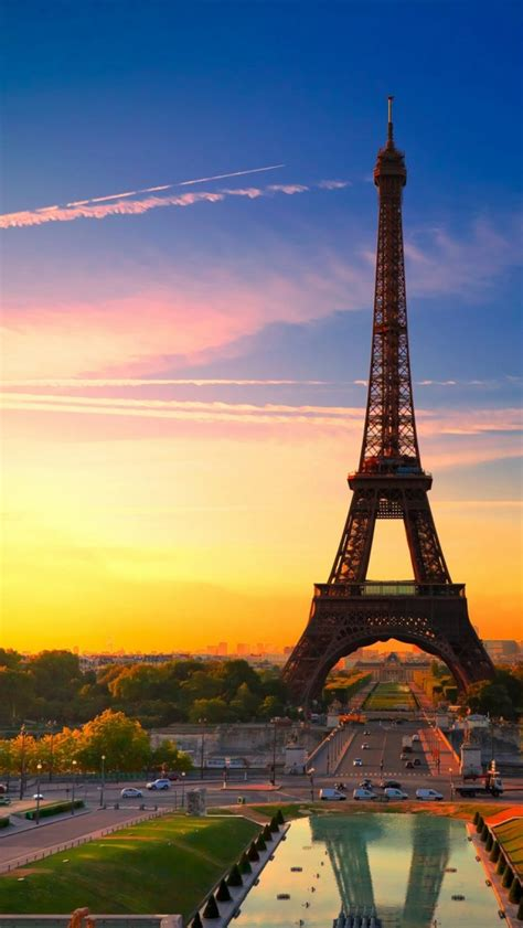 Eiffel Wallpaper For Iphone 5 | city of paris france eiffel tower hd iphone 5 wallpapers