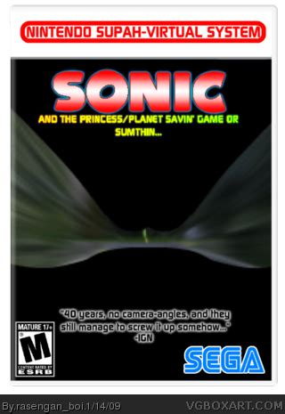 sonic and the princess/planet savn game or sumthin misc