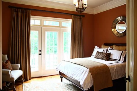 master bedroom traditional bedroom houston 187 traditional small master bedroom design with red wall