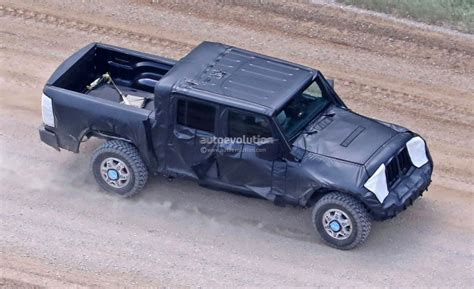 jeep wrangler truck jeep wrangler pickup truck is finally here and it s big