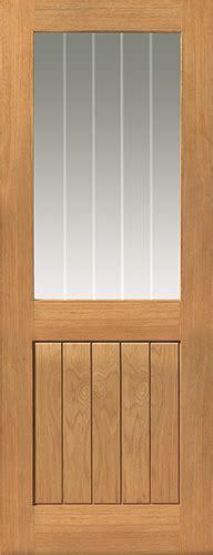 Interior Half Glazed Doors Thames Light Glazed Oak Door