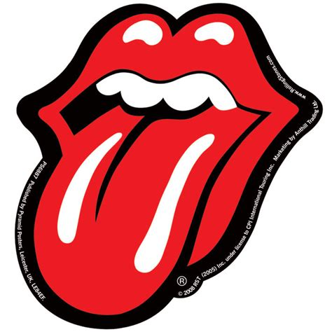 rolling stones lips sticker sold at europosters