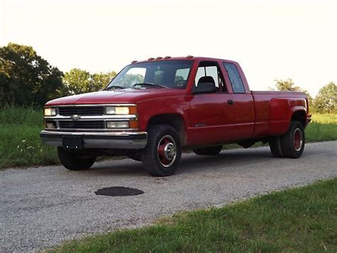 how petrol cars work 1997 chevrolet 3500 interior lighting find used 1997 chevrolet silverado c3500 excab dually 454 auto trans 2wd no reserve in rogers