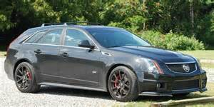 Cadillac Cts Station Wagon Test Drive Cadillac Cts V Is A Business Insider