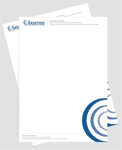 Explanation Letter Overlook Creative Letterhead Design Exles