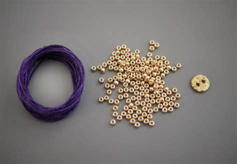 how to make a beaded cuff l knafo do it yourself diy braided bead bracelet by