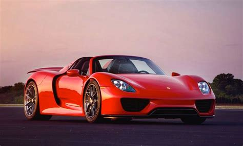 Gallery Red Porsche 918 On Hre Wheels