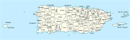 Map Puerto Rico by Map Of Puerto Rico Galleryhip Com The Hippest Galleries