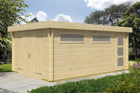 garage kaufen preis holzgarage kaufen flachdach ohne tor sams gartenhaus shop