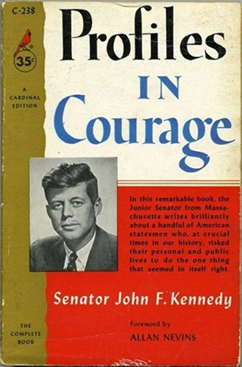 f kennedy book report worth reading political courage and integrity profiles