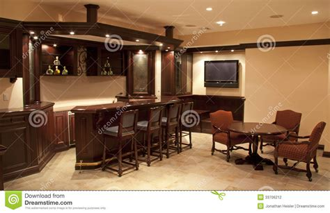 home bar area home bar lounge stock photography image 33706212