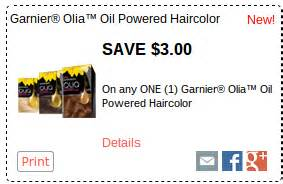 garnier hair color coupons 3 1 garnier olia haircolor coupon great walgreens deals