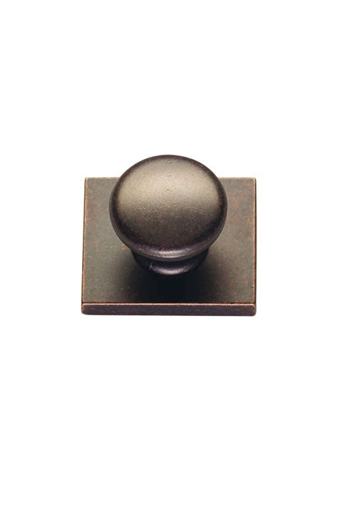 Cabinet Knob Backplate by New Pioneer Cabinet Knob With Backplate Kitchen Craft
