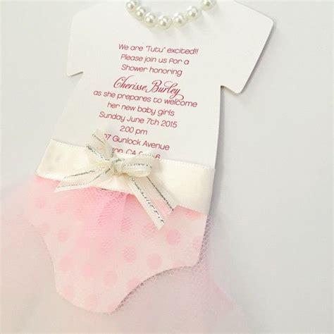 Tutu Baby Shower Invitations by Via Instagram Http Ift Tt 1lbfst3 Things I