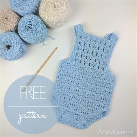 knitting pattern newborn romper crochet baby romper blue orchid free crochet pattern