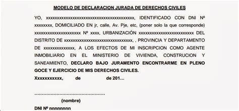 declaracion jurada puerto rico el blog inmobiliario de alex alc 225 ntara quispe requisitos