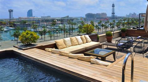hotel w terrasse barcelona 2018 best barcelona hotel terraces rooftop pools