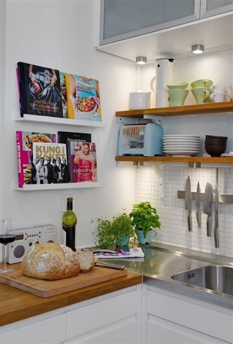 small shelves for kitchen small front facing cookbook shelves decoist