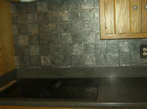 faux tile wallpaper backsplash dimensional really looks