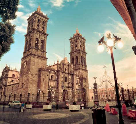 imagenes centros historicos catedral de puebla wikiwand