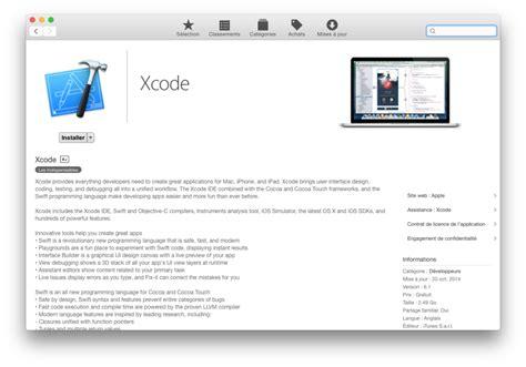 cocoa tutorial xcode 6 xcode command line tools yosemite tuto d installation