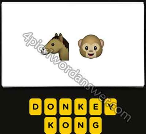 emoji horse wallpaper guess the emoji level 2 answers 4 pics 1 word answer