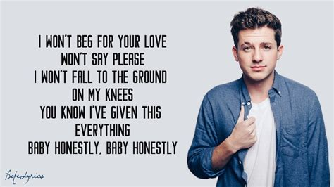 charlie puth on me charlie puth done for me lyrics feat kehlani youtube