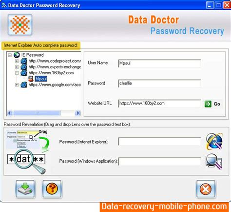 reset vba password 4 14 6 13 serial number internet explorer password recovery software screenshots