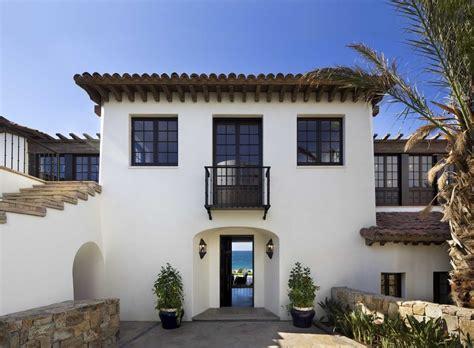 stucco windows exterior mediterranean with old spanish