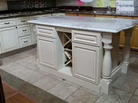 how to build a kitchen island with cabinets custom cabinet solutions using in stock cabinets