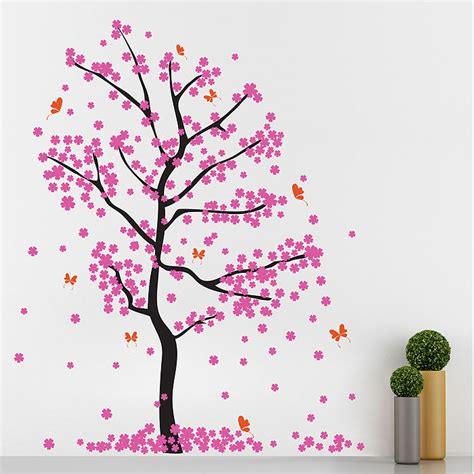 wall stickers cherry blossom tree cherry blossom tree wall stickers peenmedia