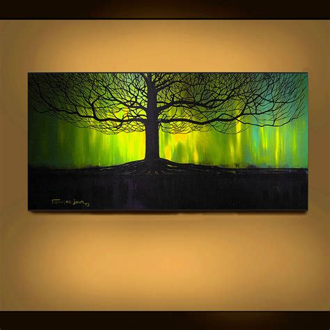 trees painting abstract landscape original 28 images