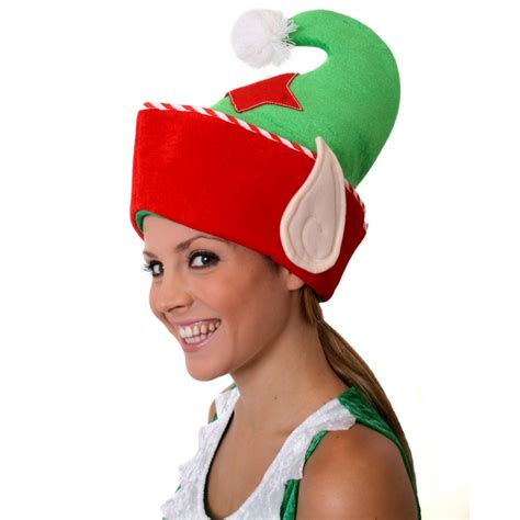how to make a green christmas hat and green hat with ears