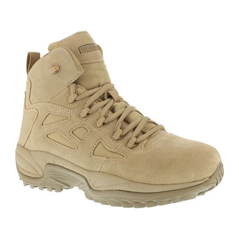 Sepatu Boot Tactical Unitewin 8in reebok work s rapid response composite toe 6 quot work boot rb8694 wide width available desert