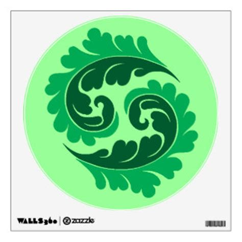 Leaves Wall Sticker leaves wall decals wall stickers zazzle