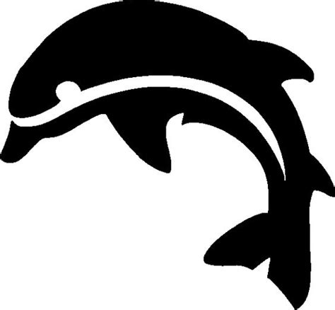 printable dolphin stencils pinterest the world s catalog of ideas