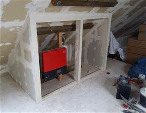 dachboden schrank selber bauen auf dem dachboden eine trockenbau wand schrank errichten
