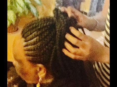 coiffure africaine  bruxelles tissage rasta pique lache fanny nkiere youtube