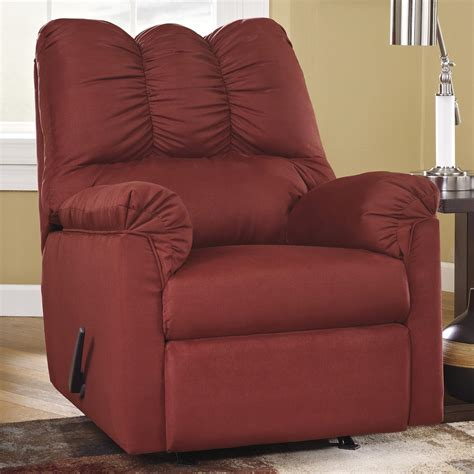signature design recliner signature design by ashley york salsa 7500125 rocker
