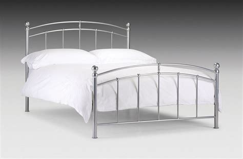 Metal Framed Bed Bed Metal Frame New 4ft6 Chatsworth With Mattress Option Ebay